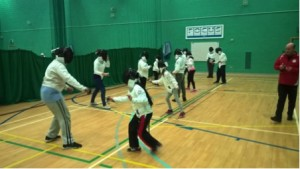 Link4Life Disabilty Fencing Session 01