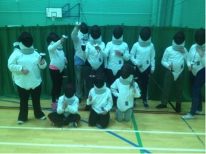 Link4Life Disability Fencing Session 02